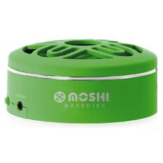 Moki BassDisc Bluetooth Speaker Green