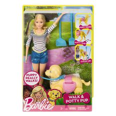 Barbie Walk N Potty Puppy