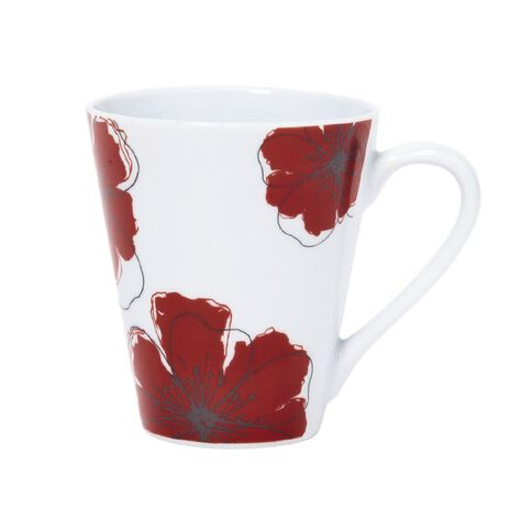 Harrison & Lane Poppy Mug 12oz