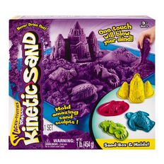 Kinetic Sand Box Set Assorted Colours