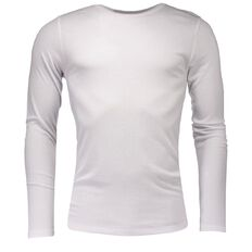 Basics Brand Men's Thermal Polyviscose Long Sleeve Top