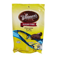 Whitman's Sugar Free Chocolate Truffle Bag 85g