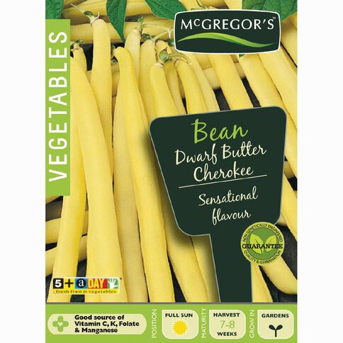 McGregor's Dwarf Butter Beans Vegetable Seeds
