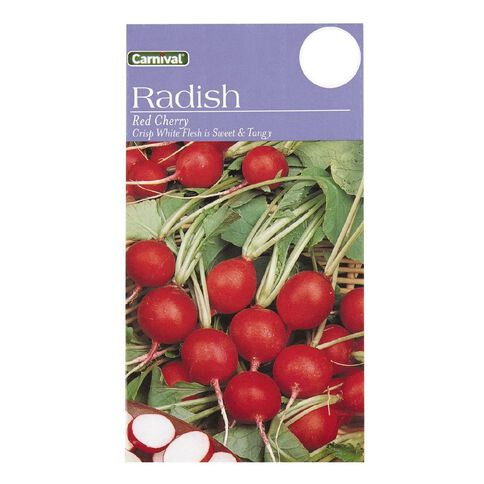 Carnival Red Cher Radish Vegetable Seeds