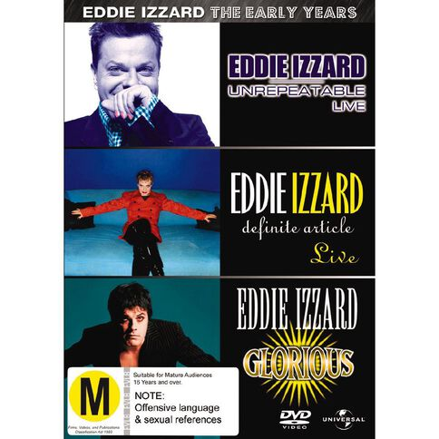 Eddie Izzard The Early Years DVD 3Disc