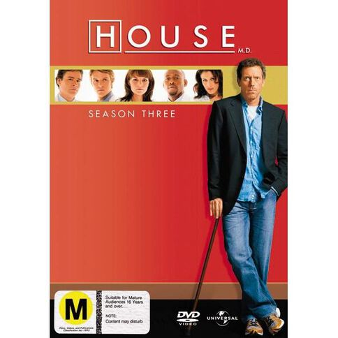 House Season 3 DVD 6Disc
