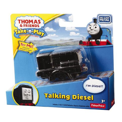Thomas & Friends Take 'n Play Talking/Lights Engine Assorted Small