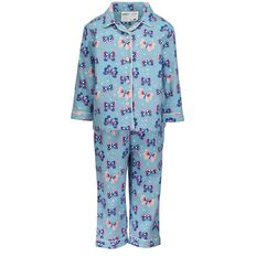 Basics Brand Infant Girls' Packaged Flannelette Pyjamas