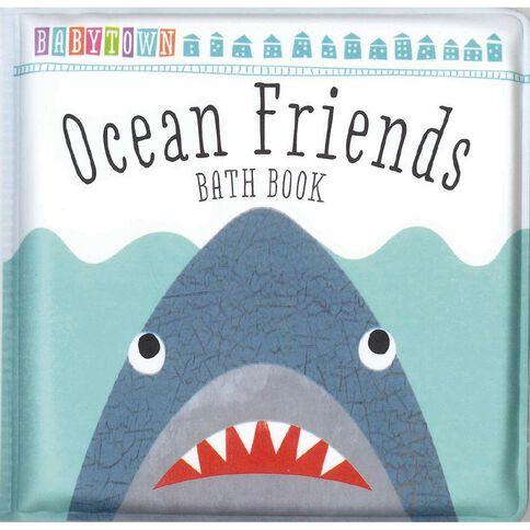 Baby Town Fish Friends Bath Book