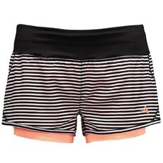 Active Intent Women's All Over Print Band Bike Shorts