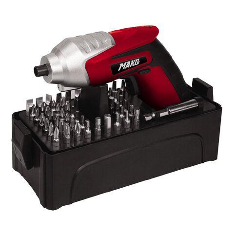 Mako Cordless Screwdriver Kit