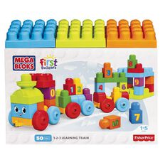 Fisher-Price Mega Bloks First Builders ABC Learning Train