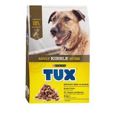 TUX Adult Kibble Savoury Beef Dry Dog Food 7kg