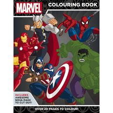 Marvel Super Heroes Colouring Book