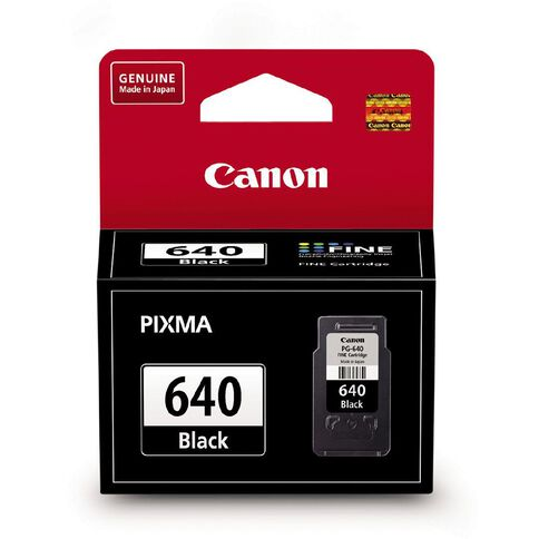 Canon Ink Cartridge PG640 Black Standard