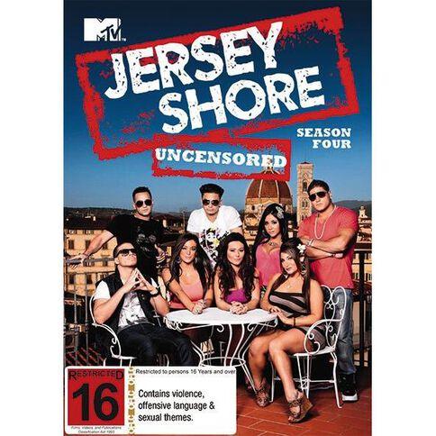 Jersey Shore Season 4 DVD 3Disc