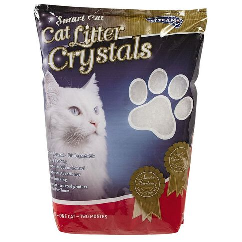 Pet Team Smart Cat Litter Crystals 7.6L
