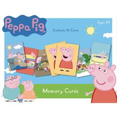 Peppa Pig Frame Tray Memory Game Combo Puzzle Assorted