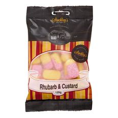 Stockley's Rhubarb & Custard 125g