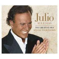 The Greatest Hits Tour Edition CD by Julio Iglesias 1Disc