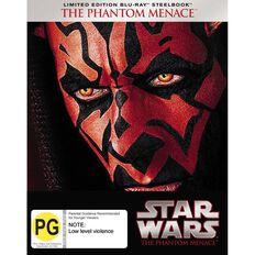 Star Wars Steelbook Episode 1 Blu-ray 1Disc