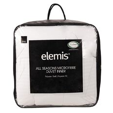 Elemis Duvet Inner All Seasons Microfibre 210cm x 210cm 255g Queen