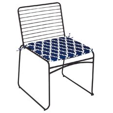 Living & Co Viggo Wire Chair with Seat pad