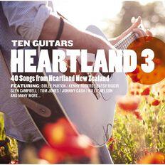 Ten Guitars Heartland 3 CD by Various Artists 2Disc