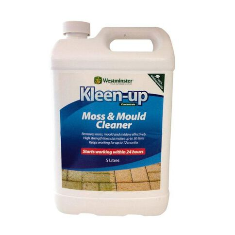 Westminster Kleen-up Moss and Mould Cleaner Concentrate 5L