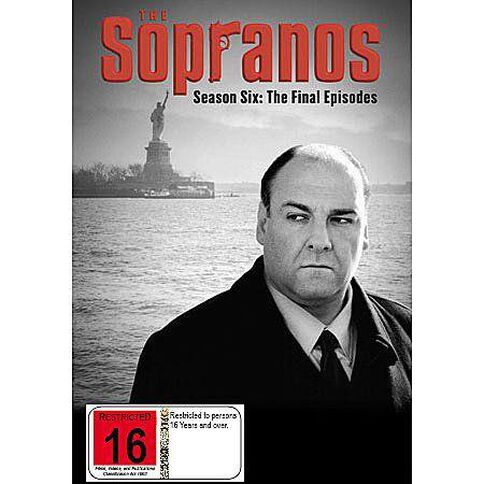 Sopranos Season 6 Part B DVD 4Disc