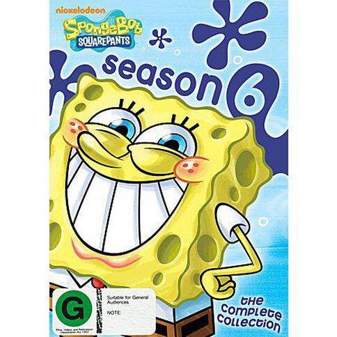 Spongebob Squarepants Season 6 DVD 4Disc