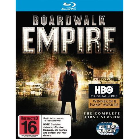 Boardwalk Empire Season 1 Blu-ray 5Disc