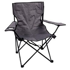 Necessities Brand Folding Camping Chair Grey