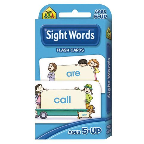 Flashcards Beginning Sight Words (5+) by Schoolzone