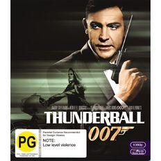 Thunderball 2012 Version Blu-ray 1Disc
