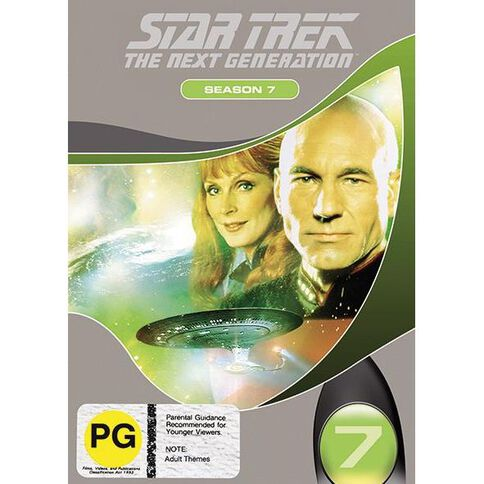 Star Trek Next Generation Season 7 DVD 1Disc