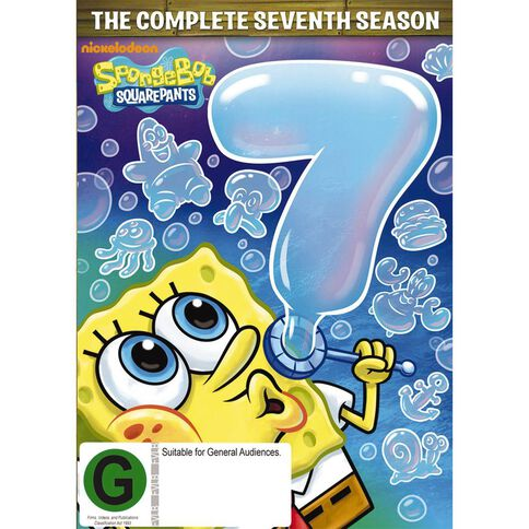 Spongebob Squarepants Season 7 DVD 3Disc