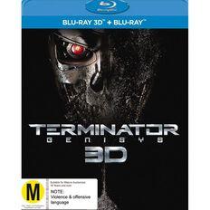 Terminator Genisys 3D Blu-ray 1Disc