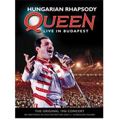 Queen Hungarian Rhapsody DVD 1Disc