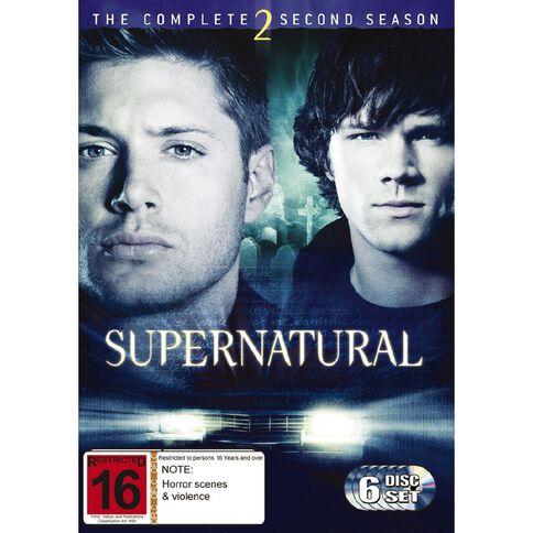 Supernatural Season 2 DVD 6Disc