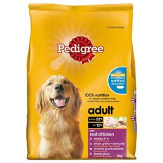 Pedigree Adult Complete Nutrition with Real Chicken 3kg