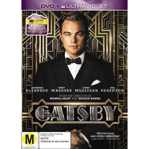 The Great Gatsby DVD 1Disc