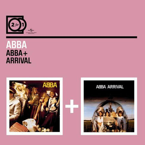 2 for 1 Abba/Arrival CD by ABBA 2Disc