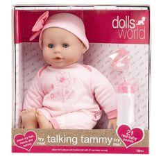 Dolls World Talking Tammy Doll