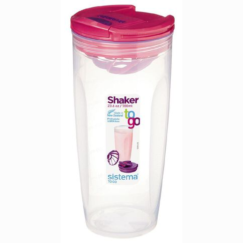Sistema Shaker To Go Assorted Colours