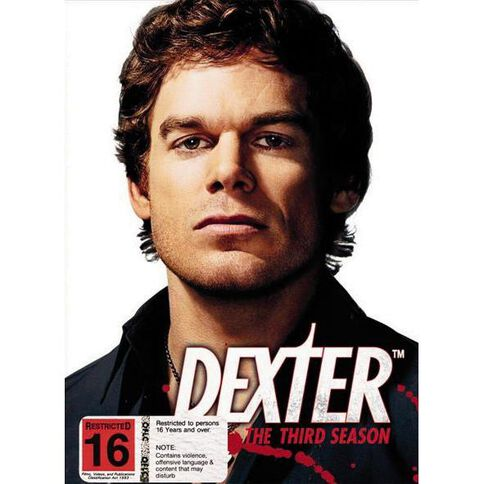 Dexter Season 3 DVD 4Disc