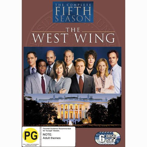 The West Wing Season 5 DVD 6Disc
