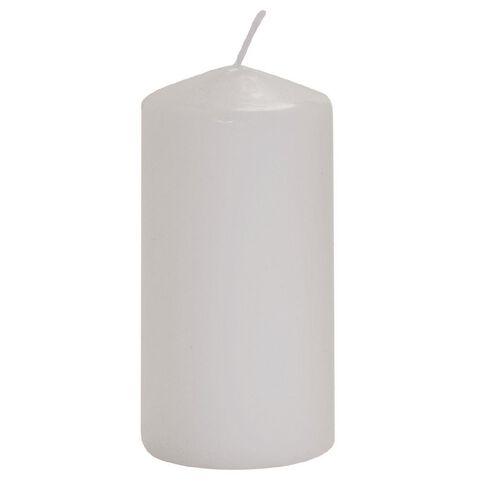 Necessities Brand Church Candle White 5cm x 10cm