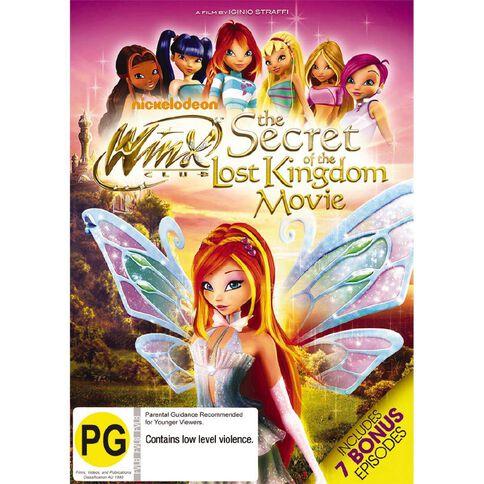 Winx Club The Secret Of The Lost Kingdom Movie DVD 2Disc