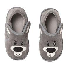 Hippo + Friends Kids' Bear Slippers